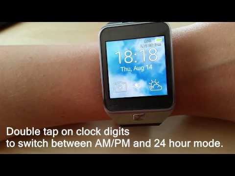 Float Clock / Animated watch face for Samsung Gear 2 and Gear Neo
