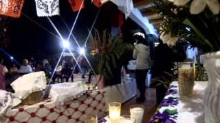 Día de la santa cruz en Huecorio Michoacán. México.