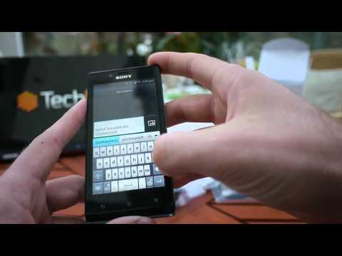 Sony Xperia J Smartphone im Test