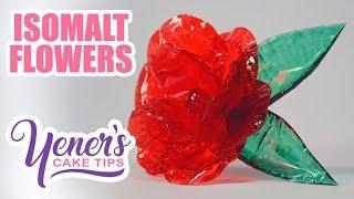 Quick and Easy Pressed ISOMALT FLOWERS Tutorial | Yeners Cake Tips | Yeners Way