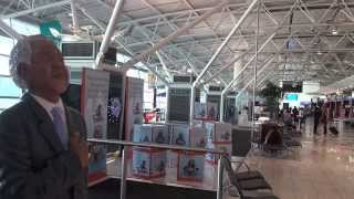 Four minutes at Cape Town International Airport, South Africa