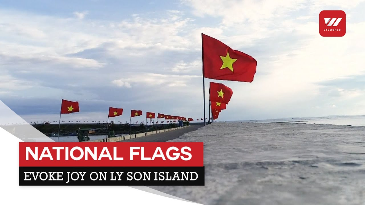 National flags evoke joy on Ly Son island | VTV World