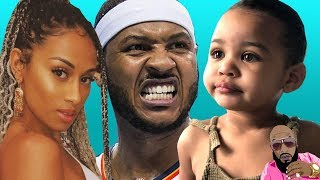 Carmelo Anthony Baby Mama Reacts To Him Explaining The Yacht PICS To TMZ But NOT His DAUGHTER!!