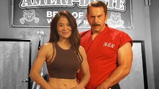 Master Ken vs Stunt Woman   The Art of Self Defense
