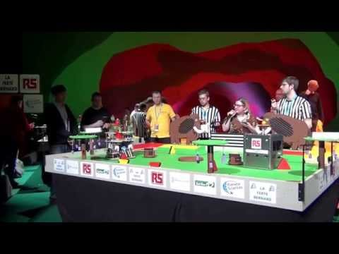 2014 - PM-ROBOTIX vs AIR Robotique - Match n°3 - Coupe de France de Robotique 2014