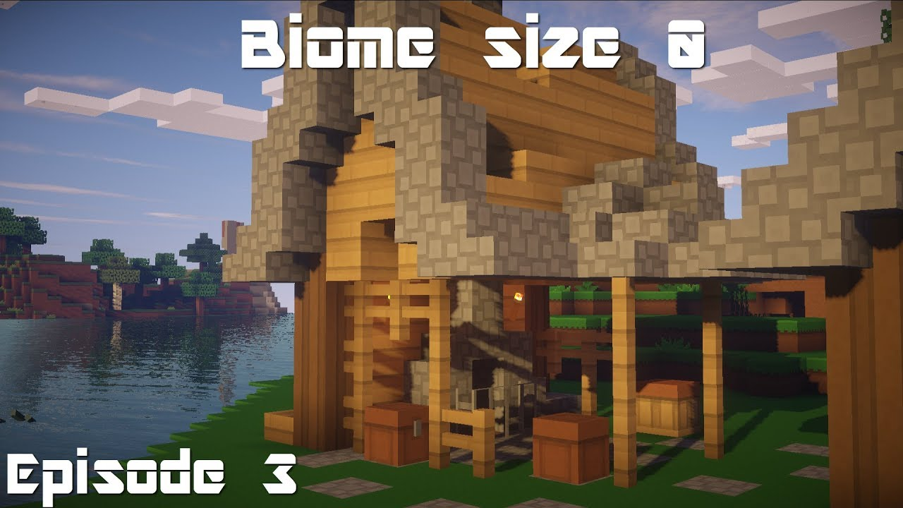 Minecraft | Biome Size 0 | Smelting Room