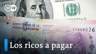 El impuesto a la riqueza llega al Senado de Argentina