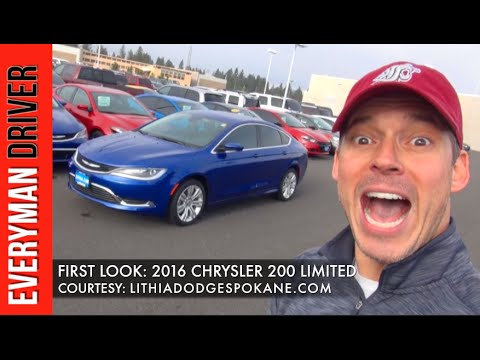 First Look: 2016 Chrysler 200 on Everyman Driver