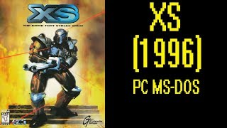 XS (1996) - DOS Gameplay Video (PC MS-DOS)