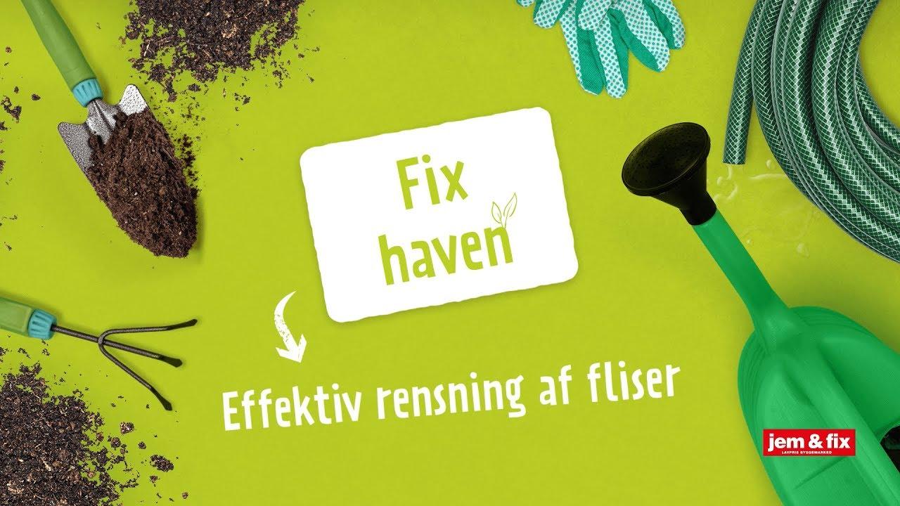 Sidste nye Rens dine fliser effektivt | jem & fix FL-21