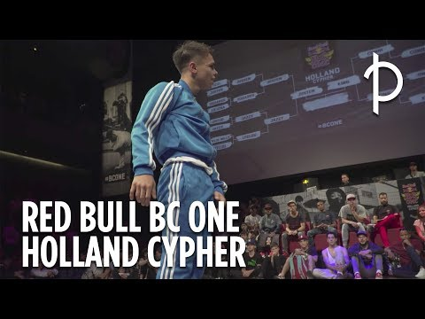 Zo ging het eraan toe tijdens de Red Bull BC One Holland Cypher