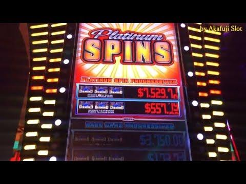 Black Platinum Slot Machine Max Bet $6.75 & Black Diamond Slot, San Manuel Casino