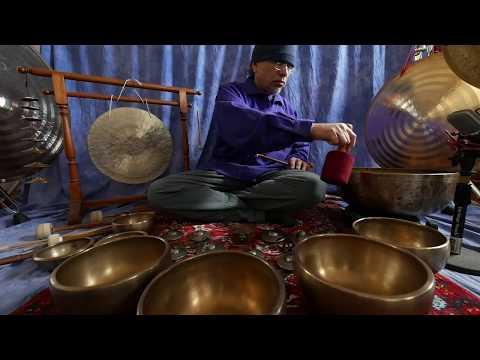 Chakra Meditation/Improvisation #2/30 min ~Antique Tingshas & Gongs~