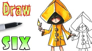 How to Draw Six - Little Nightmares Game