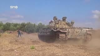 Тяжелые столкновения в некоторых частях Сирии,  боевые кадры  война в Сирии 2018