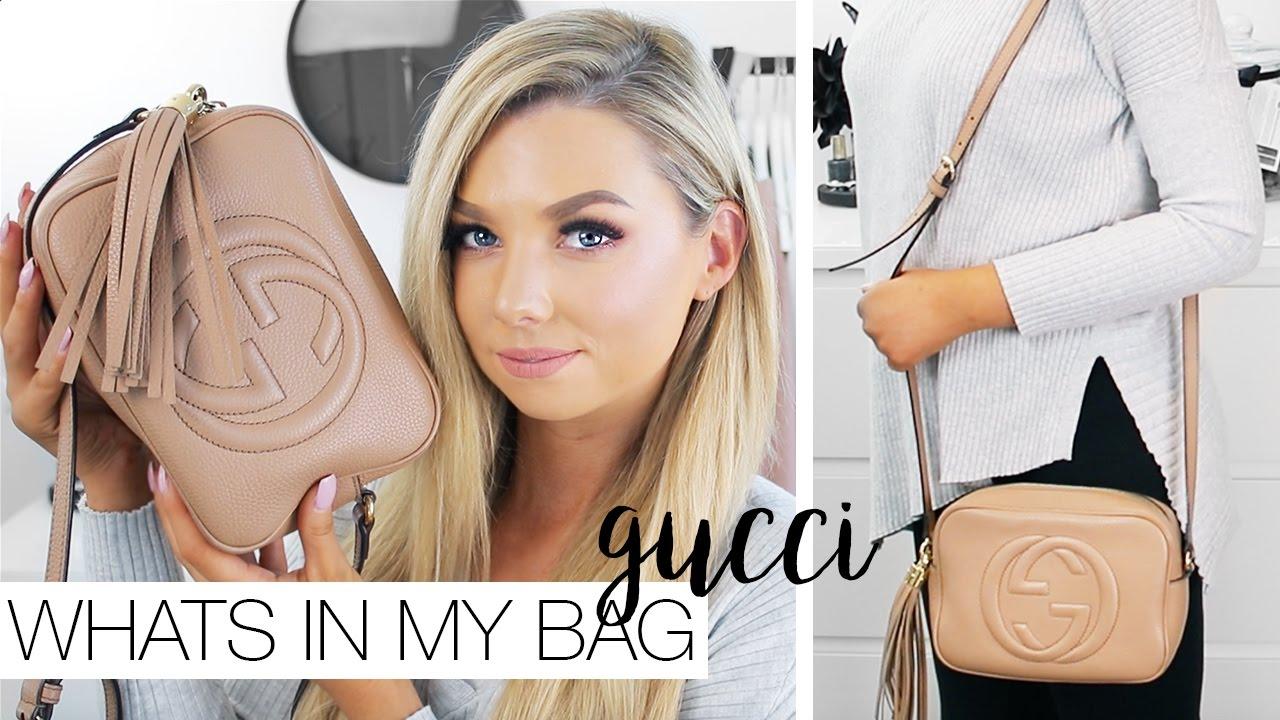 5989418e81f8 Whats In My Bag - GUCCI Soho Disco - YouTube