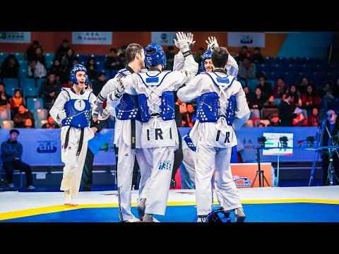 (Highlight ) Taekwondo grand slam world cup team championship 2018.