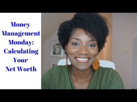 Money Management Monday | Calculating Net Worth | #networthgoals | FrugalChicLife