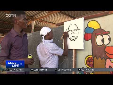 Ugandan artists help street children discover new skills