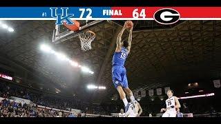 Kentucky Wildcats TV: Kentucky 72 Georgia 64
