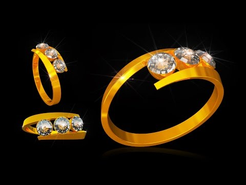 Cinema 4d Gold Ring Modeling and Texturing Complete Tutorial