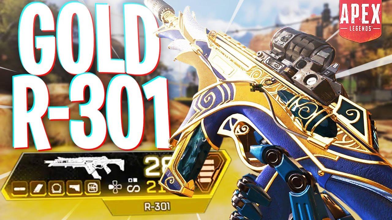 I FINALLY Found This Gold Gun Again! - PS4 Apex Legends thumbnail