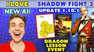 Shadow Fight 3 Update 1.10.1. Dragon Lesson Event Attempt. AI IS FIXED! 😍
