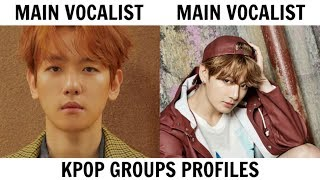 KPOP GROUPS PROFILES | BTS & EXO