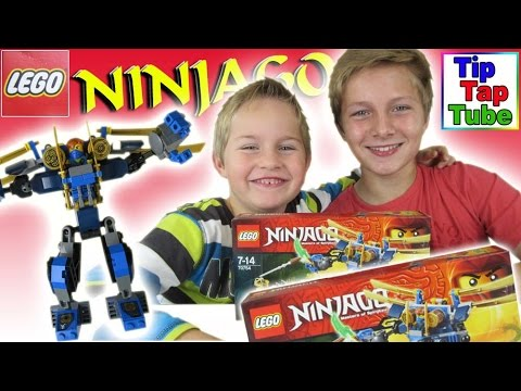 Lego Ninjago 70754 Jay's Elektro Mech 2 Figuren Ausrüstung Zubehör Spielzeug auspacken Kinderkanal