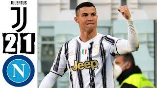 Ювентус Наполи 2 1 Обзор Матча Чемпионата Италии 07 04 2021 HD