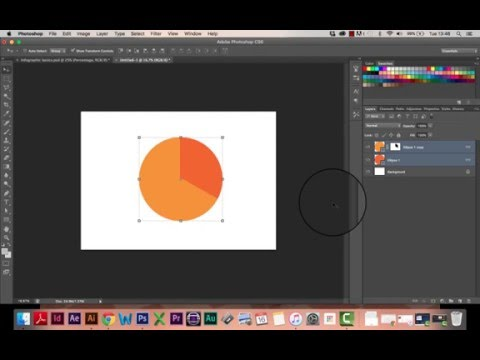 Infographic Tutorial infographic tutorial : Infographic Tutorial In Photoshop 05 Circle Pie Chart