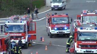 Länderübergreifende Feuerwehr-Übung - Siegen-Niederschelden - 16.04.2016