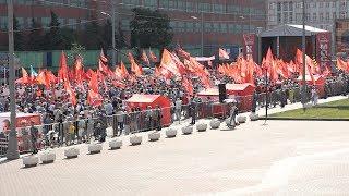 Мы проводим акцию протеста против людоедской реформы