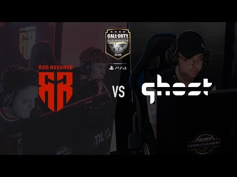 Red Reserve vs Ghost Gaming | CWL Champs 2018 | Day 1