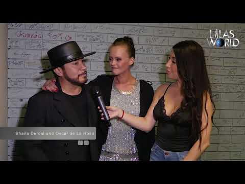 La Mafia and Shaila Durcal on Lalas World