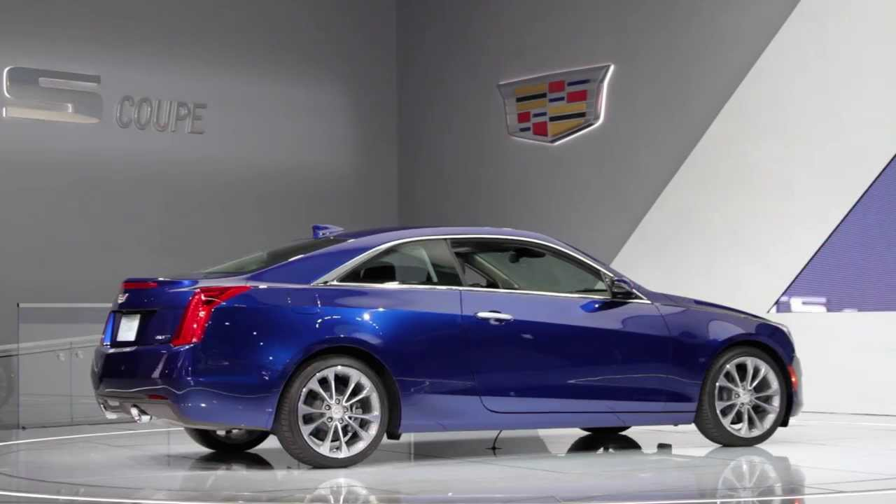 2015 Cadillac Ats 2 0t Coupe Up Close Personal 2014 Detroit