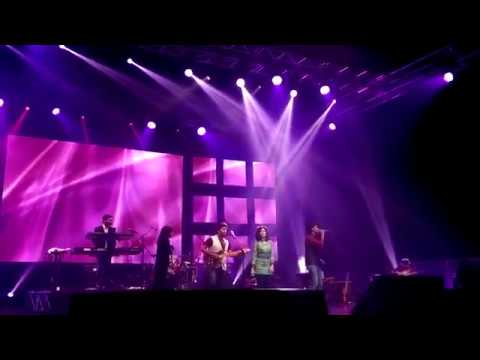 Arijit Singh, Palak Mucchal, Mohd and Mithoon live on stage together...