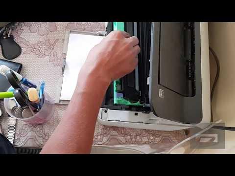 how to change cartridge hp 1112