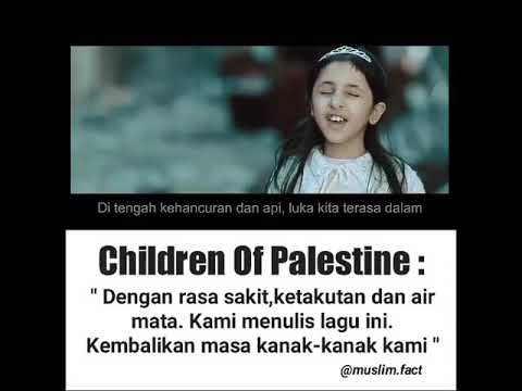 Lagu Children of Palestine