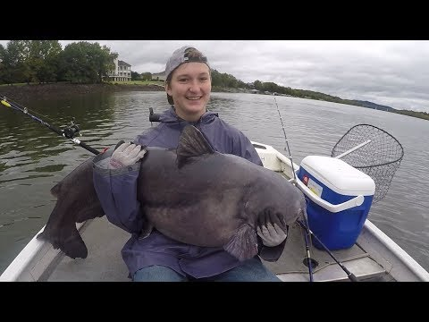 Catching The CATFISH OF A LIFETIME!!!
