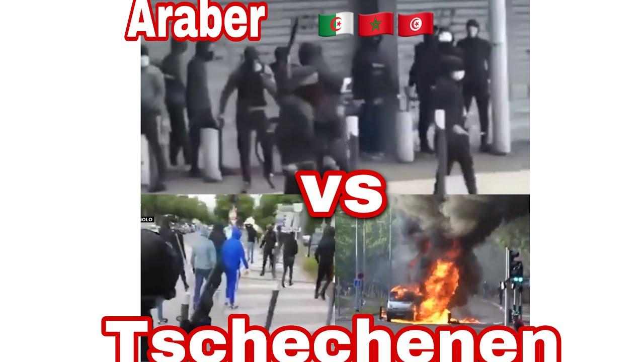 Dijon Bandenkrieg Nordafrikaner Algerier,Marokkaner &Tunesier  gegen Tschetschenen Frankreich 🇫🇷☠️