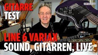 Test / Review: Variax Standard Line 6 - Sounds, Gitarrenmodelle, Einsatzgebiet und Live Erfahrung