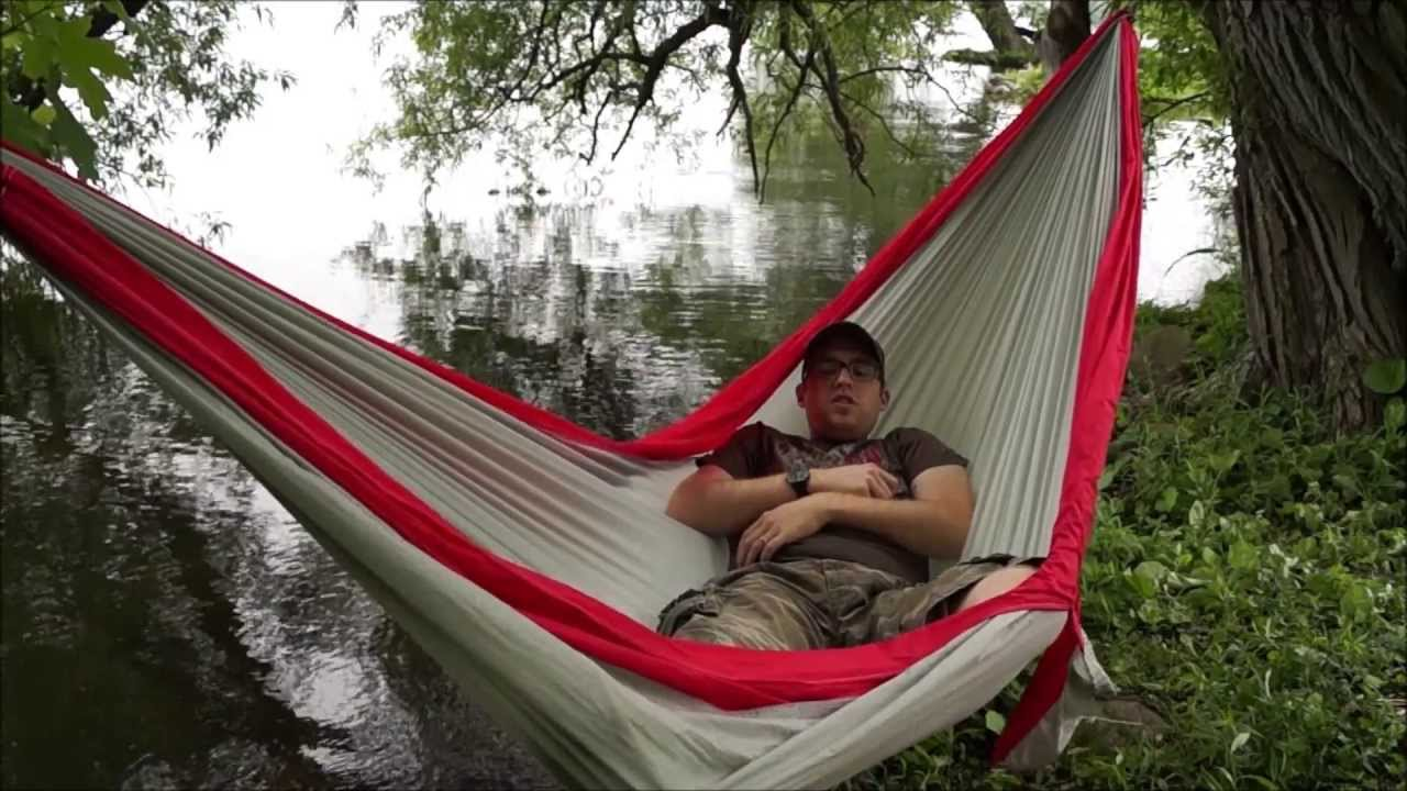 Medium image of byer of maine traveller double hammock review