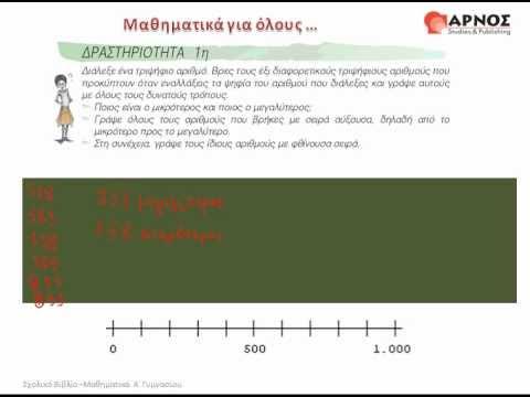 A' ΓΥΜΝΑΣΙΟΥ-ΜΑΘΗΜΑΤΙΚΑ-Φυσικοί Αριθμοί(1ο Μέρος)