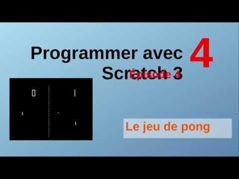 Le jeu de pong avec Scratch. Épisode 4