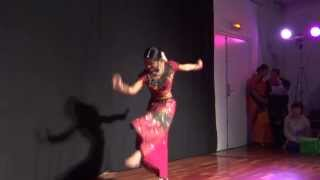 Nimbooda Nimbooda - Dancer ♥ Darshini Ranganathan ♥ 16, The Pride of India in Nantes, FRANCE