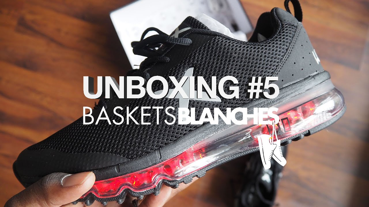 big sale d83f6 75906 Unboxing  5 by Baskets Blanches Wize   Ope X-Run (Led shoes)