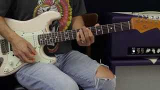 How To Play - Jimi Hendrix - Long Hot Summer Nights - Guitar Lesson - Rhythm Track