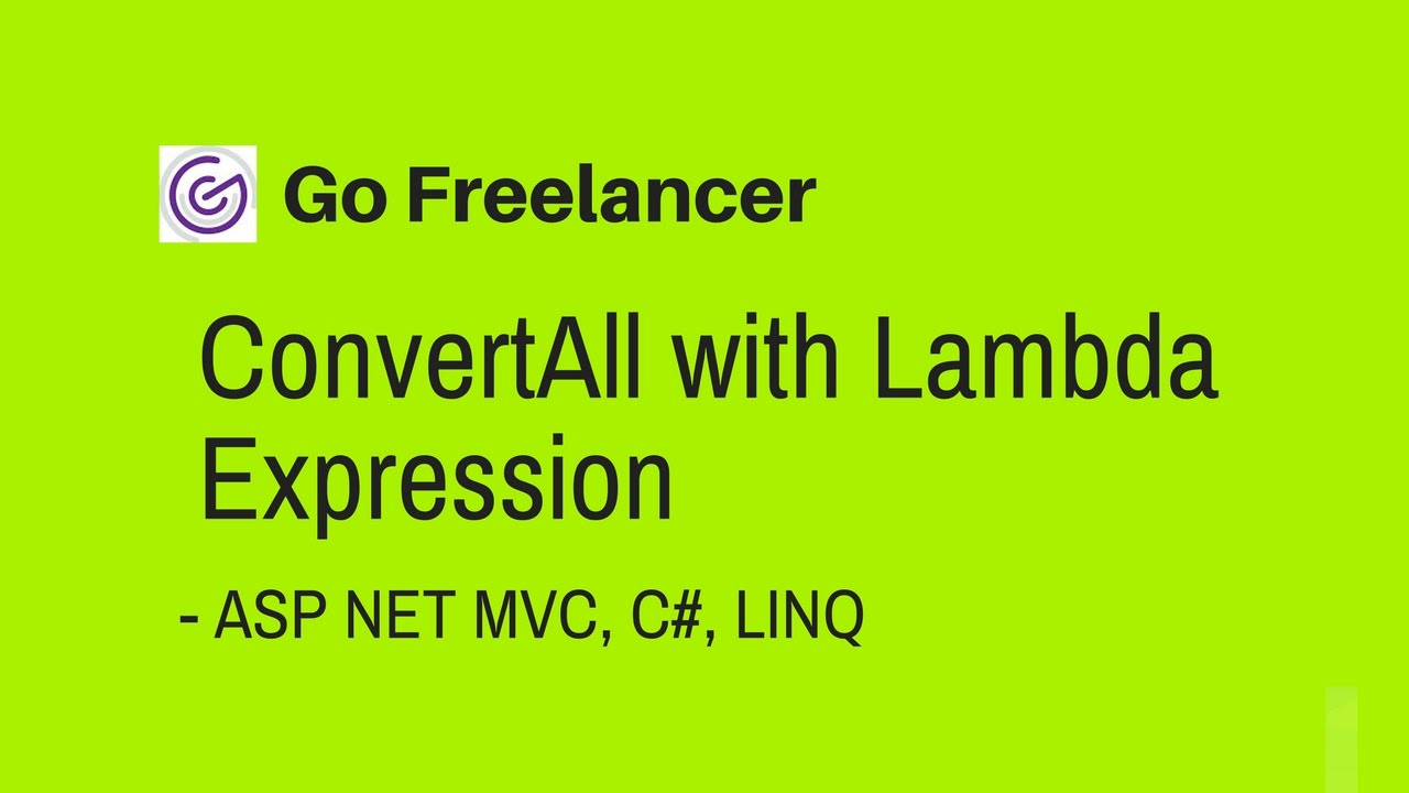 ConvertAll with Lambda Expression in ASP NET MVC C# LINQ