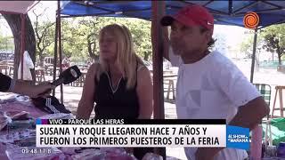 Son 4000 feriantes en el Parque Las Heras